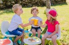 Kuchynky pre deti sety - Set kuchynka Tefal French Touch Smoby s ľadom a kávovarom a stôl Piknik s dvoma stoličkami KidChair Blue_31