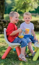 Kuchynky pre deti sety - Set kuchynka Tefal French Touch Smoby s ľadom a kávovarom a stôl Piknik s dvoma stoličkami KidChair Blue_30