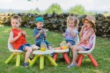 Kuchynky pre deti sety - Set kuchynka Tefal French Touch Smoby s ľadom a kávovarom a stôl Piknik s dvoma stoličkami KidChair Blue_29
