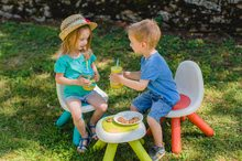 Kuchynky pre deti sety - Set kuchynka Tefal French Touch Smoby s ľadom a kávovarom a stôl Piknik s dvoma stoličkami KidChair Blue_6