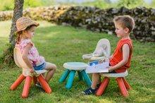 Kuchynky pre deti sety - Set kuchynka Tefal French Touch Smoby s ľadom a kávovarom a stôl Piknik s dvoma stoličkami KidChair Blue_28
