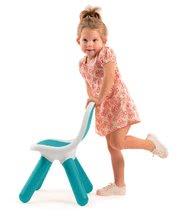 Hry na domácnosť - Set upratovací vozík s elektronickým vysávačom Vacuum Cleaner Smoby a školská tabuľa obojstranná magnetická so stoličkou_7
