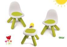 Komplet stolčkov KidChair Smoby z mizico (UV filter) zeleni od 18 mes