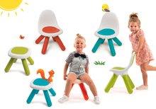 Set 3 stoličiek KidChair Smoby a 3 stolíkov (UV filter) modrá, červená, zelená od 18 mes