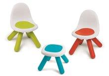 Domčeky s nábytkom - Set domček Nature Smoby a piknikový stôl s dvoma stoličkami KidChair Red od 24 mes_3