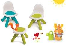 Set detský stôl Piknik s 2 stoličkami KidChair Smoby a vedro set od 2 rokov