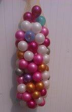 PB 11117-R Loptičky plastové  farby ružo