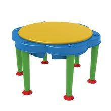 Detský záhradný nábytok - Stôl na hranie Multi Activity Starplast na vodu a piesok so slnečníkom_1