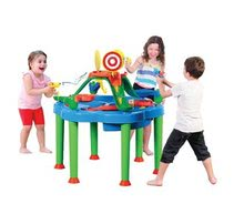 Detský záhradný nábytok - Stôl na hranie Multi Activity Starplast na vodu a piesok so slnečníkom_2