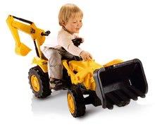 SMOBY 33333 Traktor žltý s nakladačom a