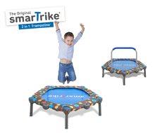 Trampolína pre deti 2-in-1 Jump SmarTrike 90 cm s rúčkou na držanie od 12 mesiacov 9101000