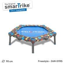 9101000 b smartrike trampolina 2v1