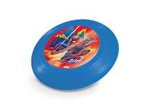 Lietajúci tanier Spiderman Mondo modrý 23 cm