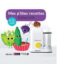 Kuchárska kniha Beaba ilustrovaná od 9-12 mesiacov vo francúzštine