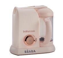 Parni kuhalnik in mešalnik Beaba Babycook® Rose Gold omejena posebna izdaja rožnati