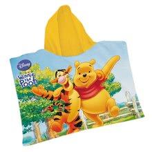 MONDO Poncho set Macko Pooh s loptou v b