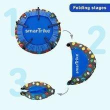 Trampolíny - Trampolína Activity Center 2v1 smarTrike skladacia okrúhla s 92 cm obvodom s rúčkou na držanie od 12 mes_3