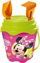 Găleți pentru nisip - Set găleată pentru nisipar Mondo cu stropitoare Minnie Mouse cu 7 accesorii (cu înălţime de 14 cm) de la 18 luni_0