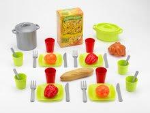 Kuchynky pre deti sety - Set kuchynka Tefal Studio XL Smoby so zvukmi a chladničkou a košík s riadom100% Chef_12