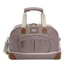 Cestovní přebalovací taška Beaba Amsterdam II Expandable hnědá 2 velikosti