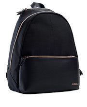 Prebalovacia taška ku kočíku Beaba San Francisco backpack black/pink gold BE940237