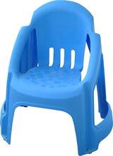 Dětská židle PalPlay s plnou opěrkou modrá