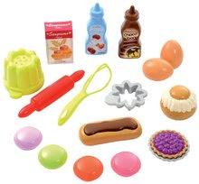 Nádobí a doplňky do kuchyňky - Potřeby na pečení Bubble Cook Écoiffier v síťce s 18 doplňky_0