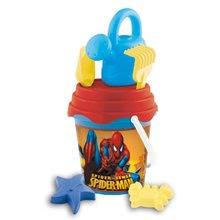 MONDO 18579 Spiderman set do piesku 7 ks