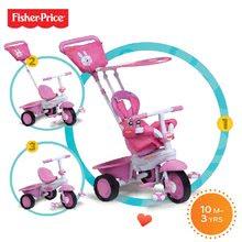 Trojkolky od 10 mesiacov - Trojkolka Fisher-Price Elite smarTrike ružová od 10 mes_8