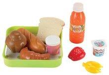 Raňajky pre deti 100% Chef Écoiffier na tácke 10 kusov od 18 mesiacov