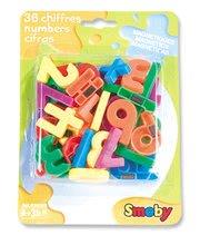 Detské magnety Smoby čísla 36 kusov