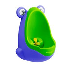 Pisoar Žaba BabyYuga CTC Paris modro-zelen