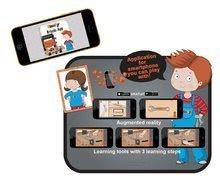 Dětská dílna sety - Set pracovní dílna Black&Decker Smoby elektronická a úklidový vozík s elektronickým vysavačem_13