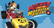Banner mickey roadster racers