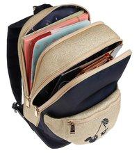 Školske torbe i ruksaci - Školská taška batoh Backpack Jackie Icons Jeune Premier ergonomický luxusné prevedenie 39*27 cm JPBF021167_0