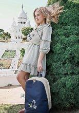 Školske torbe i ruksaci - Školská taška batoh Backpack Jackie Icons Jeune Premier ergonomický luxusné prevedenie 39*27 cm JPBF021167_1