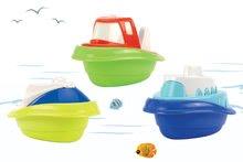 Szett 3 csónak gyerekeknek Écoiffier (hossza 10,5 cm) 18 hó kortól