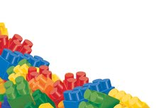 Baba építőjáték és kockák - Kiskocsi építőjátékkal Abrick Écoiffier 60 darabos 12 hó-tól_2