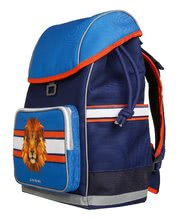 Školske torbe i ruksaci - Školski ruksak veliki Ergomax Lion Head Jeune Premier ergonomski luksuzni dizajn_1