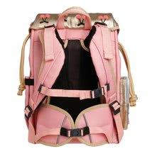 Školske torbe i ruksaci - Školski ruksak veliki Ergomaxx Cherry Pompon Jeune Premier ergonomski luksuzni dizajn 39*26 cm_0