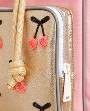 Školske torbe i ruksaci - Školski ruksak veliki Ergomaxx Cherry Pompon Jeune Premier ergonomski luksuzni dizajn 39*26 cm_5