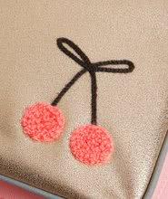 Školske torbe i ruksaci - Školski ruksak veliki Ergomaxx Cherry Pompon Jeune Premier ergonomski luksuzni dizajn 39*26 cm_7