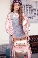Školske torbe i ruksaci - Školski ruksak veliki Ergomaxx Cherry Pompon Jeune Premier ergonomski luksuzni dizajn 39*26 cm_2