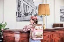 Školske torbe i ruksaci - Školski ruksak veliki Ergomaxx Cherry Pompon Jeune Premier ergonomski luksuzni dizajn 39*26 cm_10