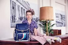Školske torbe i ruksaci - Školski ruksak veliki Ergomaxx Unicorn Gold Jeune Premier ergonomski luksuzni dizajn 39*26 cm_1