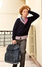 Školske torbe i ruksaci - Školski ruksak veliki Ergomax Stars Silver Jeune Premier ergonomski luksuzni dizajn_6