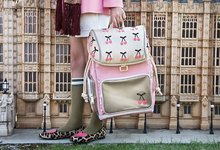 Školske torbe i ruksaci - Školski ruksak veliki Ergomaxx Cherry Pompon Jeune Premier ergonomski luksuzni dizajn 39*26 cm_15