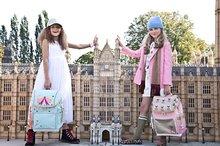 Školske torbe i ruksaci - Školski ruksak veliki Ergomaxx Cherry Pompon Jeune Premier ergonomski luksuzni dizajn 39*26 cm_16