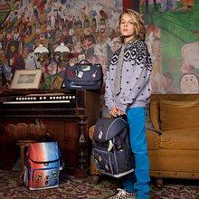 Školske torbe i ruksaci - Školský batoh veľký Ergomaxx Mr. Gadget Jeune Premier ergonomický luxusné prevedenie 39*26 cm JPERX21169_7