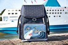 Školske torbe i ruksaci - Školský batoh veľký Ergomaxx Sharkie Jeune Premier ergonomický luxusné prevedenie 39*26 cm JPERX21174_4